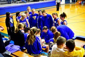 Varsity girls Basketball vs Western Reserve pics