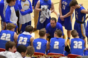 Varsity boys Basketball vs Port Clinton pics