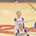 Varsity Cheer vs Port Clinton pics
