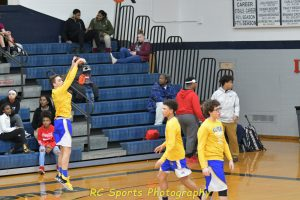 JV boys basketball vs Sandusky pics