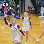 Varsity Cheer vs Sandusky pics
