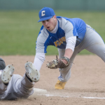 Boys Varsity Baseball beats Carey Jr High & 13 – 7