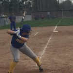 Girls Varsity Softball beats Carey  15 – 6
