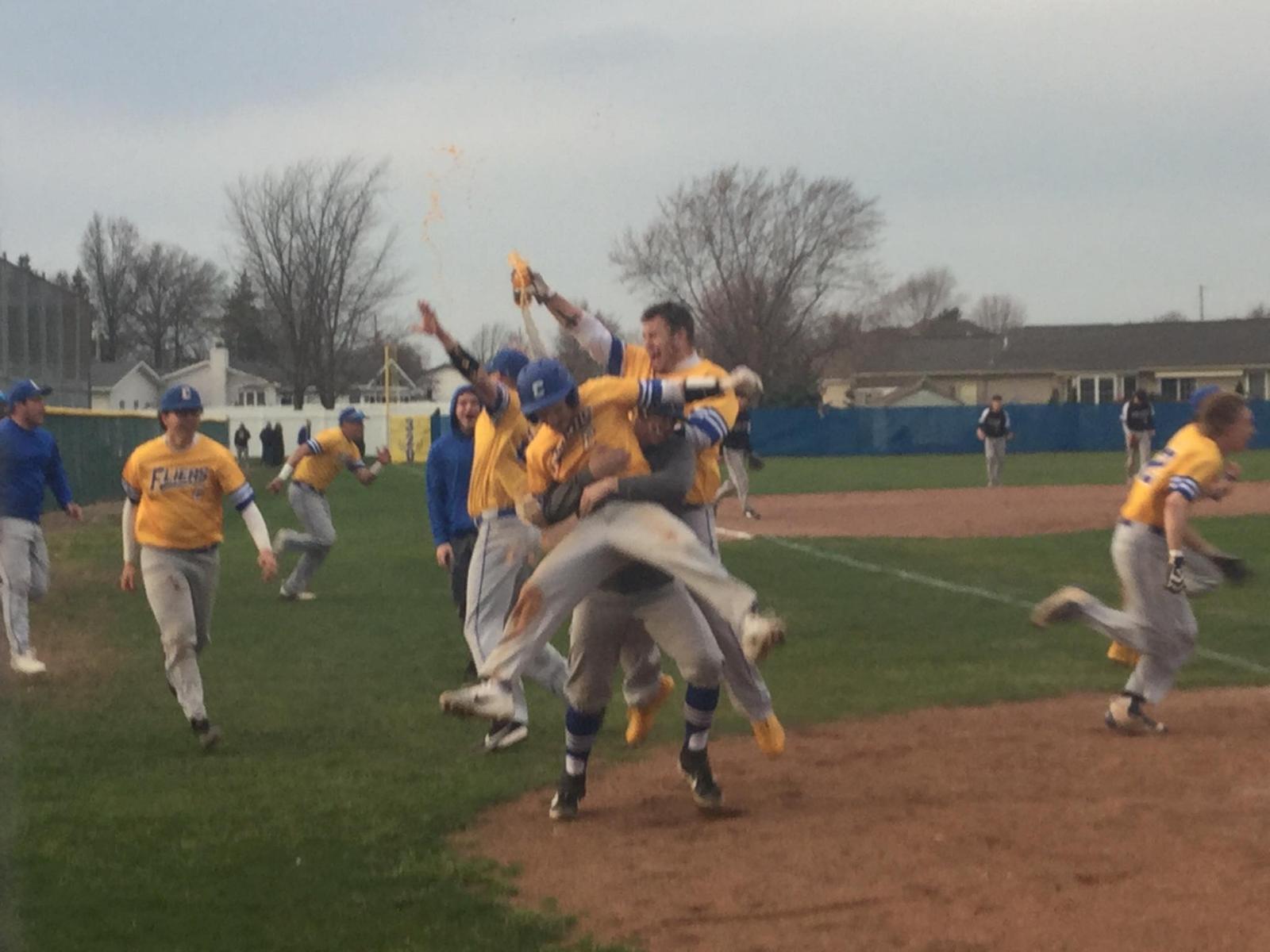 Boys Varsity Baseball beats Perkins 5 – 4