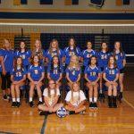 Girls 8th Grade Volleyball beats Perkins 2 – 1