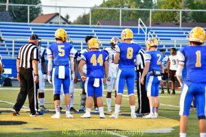 Varsity Football Beatdown of Thurgood Marshall game pics 51-8 win