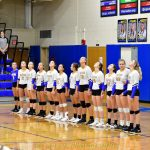 Senior night Varsity Volleyball vs Tiffin Columbian game pics