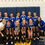 Girls 7th Grade Volleyball falls to Norwalk 2 – 0