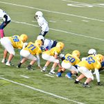 7th grade Flier football vs Sandusky game pics