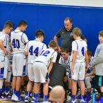 Boys 7th grade Basketball vs Tiffin Columbian. Fliers win