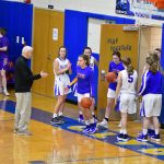 Varsity girls basketball vs Vermillion. Lady Fliers win big