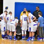7th grade boys Basketball vs Norwalk. Clyde wins