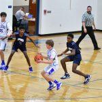 7th grade boys basketball vs Sandusky