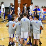 8th grade boys basketball vs Sandusky