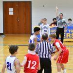 MMS 8th grade boys basketball vs Bellevue