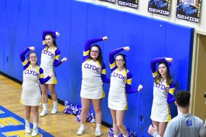 CHS JV Cheer vs Bellevue