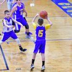 5th grade boys basketball exibition