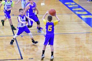 6th grade boys basketball exibition