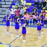 Varsity Cheer vs Port clinton