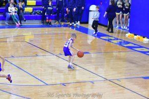 4th Grade Boys basketball exibition