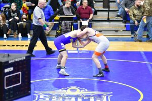 Division 2 Wrestling sectionals. Clyde Fliers