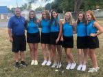 Girls Varsity Golf finishes 1st place at Green Hills Tri