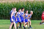 MMS Cross Country Boys Tri meet with Bellevue & Fremont Ross