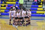 8th grade Girls Volleyball vs Tiffin Columbian Clyde wins 2-0 at The Volley for the Cure