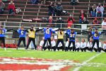 CHS Varsity Cheer @ Shelby playoff game