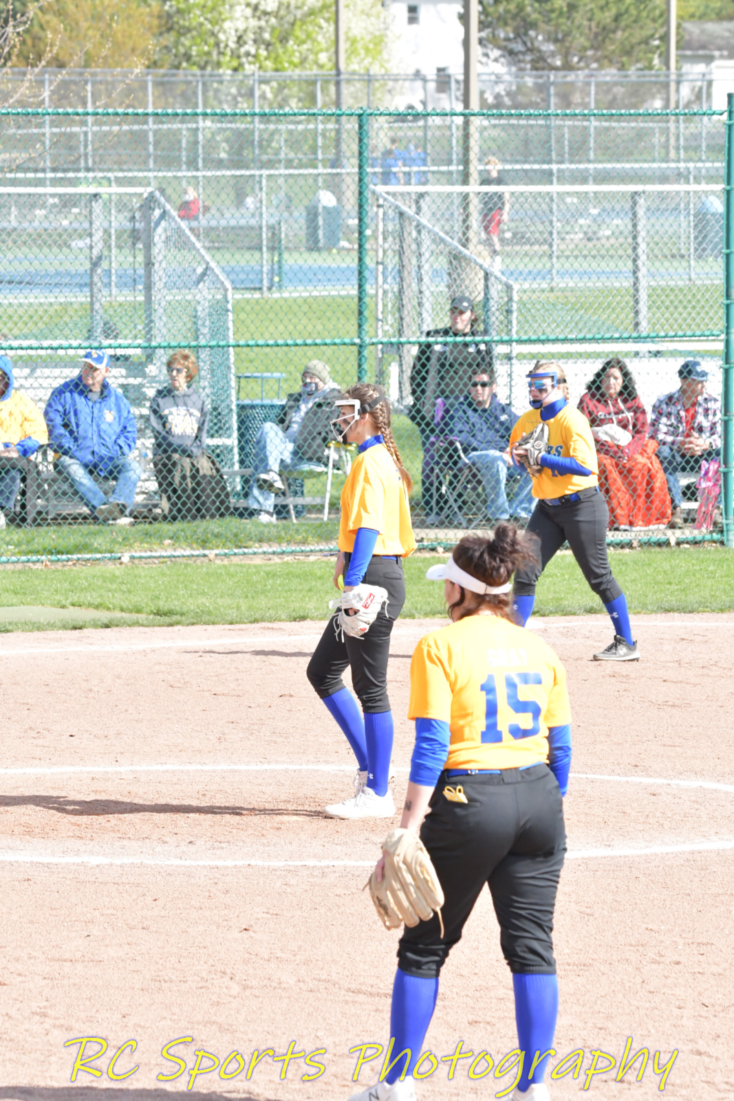 Lady Fliers Varsity Softball beats Tiffin Columbian by run rule. 14-4