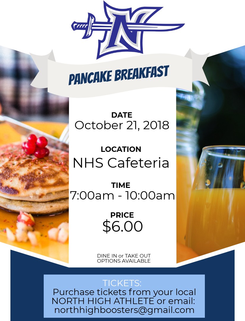 NHS Booster Pancake Breakfast
