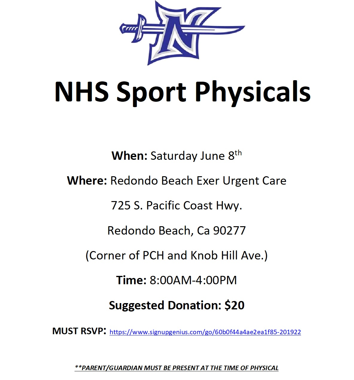 Pre-Participation Sport Physicals
