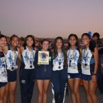 Girls' XC Takes 2nd @ Mt. SAC