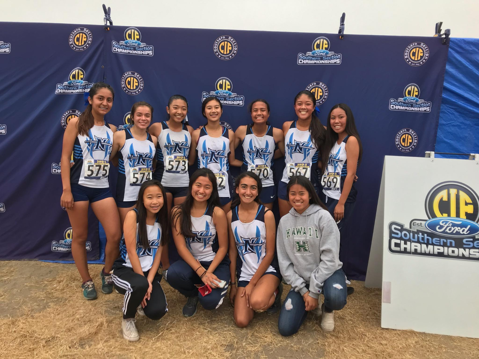 Girls' XC Run Into the CIF Finals