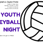 Middies Volleyball hosting Youth Night Sept. 3 vs. Ponitz Tech