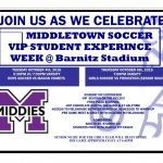 VIP Student Experience Week @ Middies Boys/Girls Soccer Games