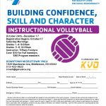 Downtown Middletown YMCA Offering Youth Volleyball Clinic for 1st-8th Graders