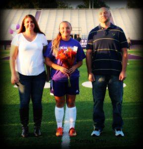 Soccer Senior Day For Lady Middies Soccer