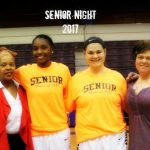 Lady Middies Basketball Senior Night 2/6/2017