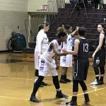 Stanley powers East girls in 48-29 win over Lady Middies