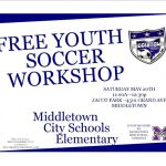 Middletown Select Soccer Offering Free Soccer Clinic Sat 5/20 11am-12:30pm @ Jacot Park for 1st-8th Graders