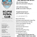 Eclipse Soccer Club Supplemental Tryout Information
