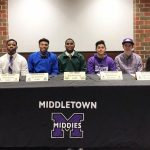 Seven Middletown High School Athletes Sign Letters of Intent