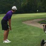 Boys Varsity Golf falls to Milford 160 – 210