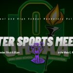 2019 WINTER SPORTS PARENT MEETING
