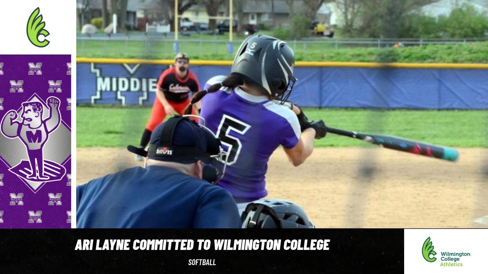 Ari Layne Commits To Wilmington College For Softball