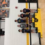 Boys Middle School Wrestling finishes 9th place at Centerville Invitational