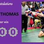 JUDAH THOMAS GETS 100th CAREER WIN!!