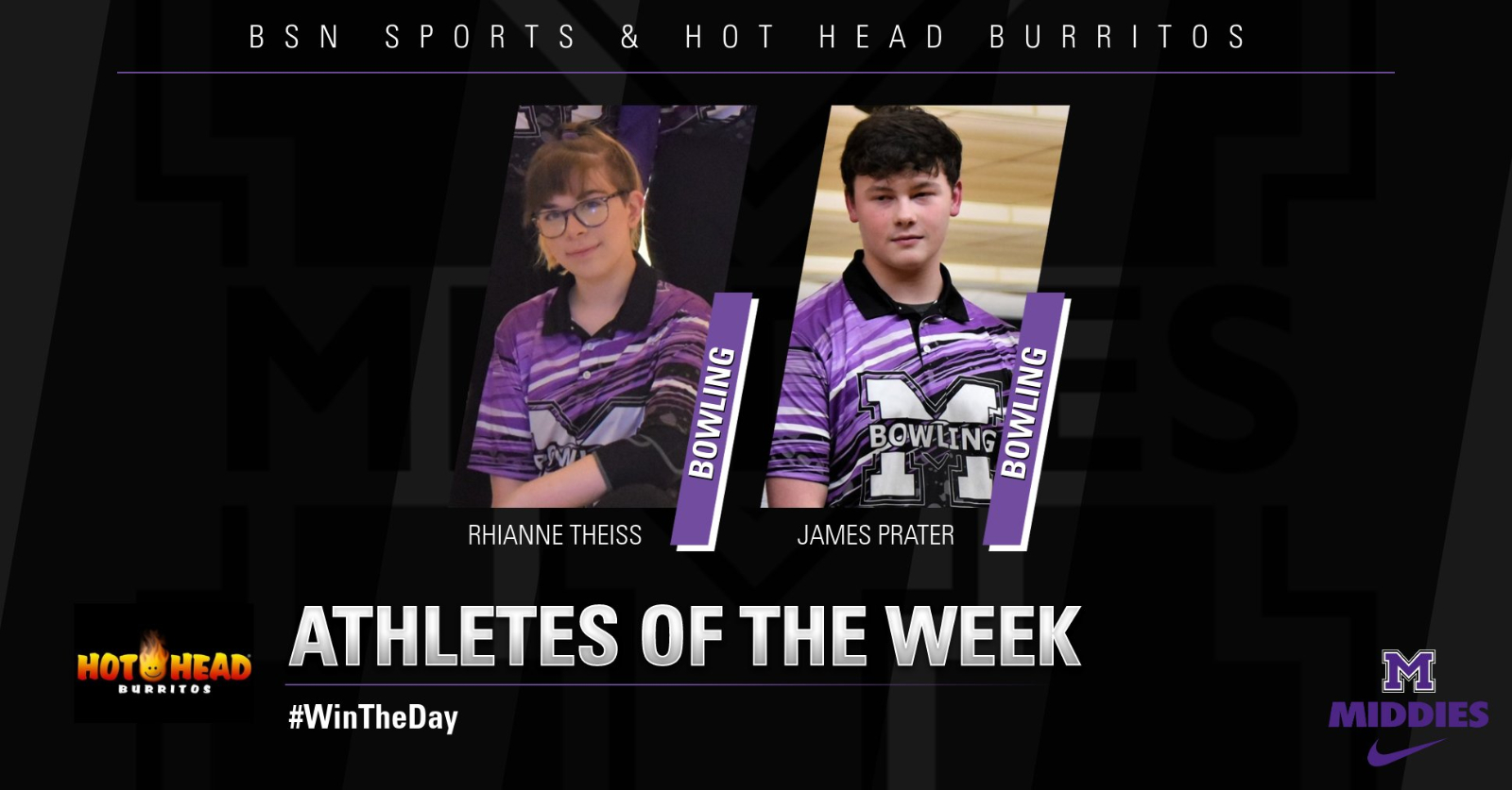 BSN SPORTS & HOT HEAD BURRITOS STUDENT-ATHLETES OF THE WEEK