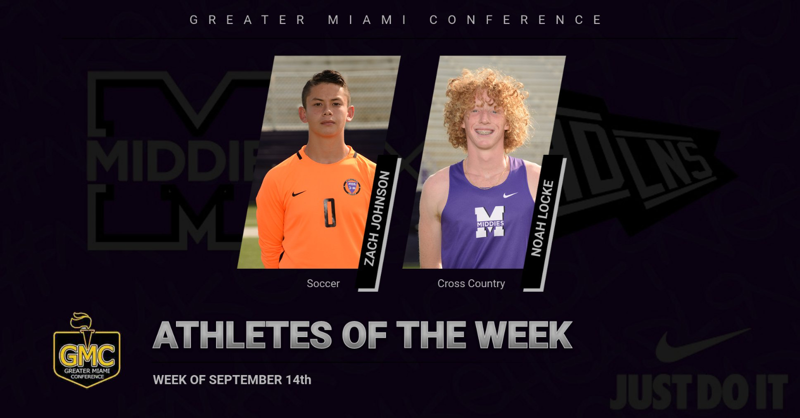 GMC Athletes Of The Week- Sept. 14th